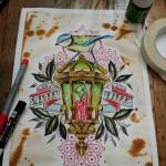 joeyelrotringo-maisonclosetatouage-lanterne