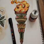 joeyelrotringo-maisonclosetatouage-torche